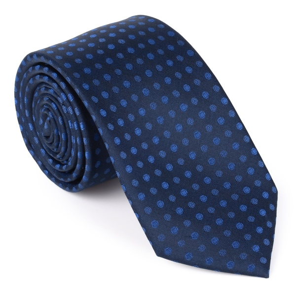 Calvin Klein Men's Silk Polka Dot Tie