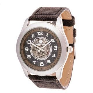 Mossy Oak Men's Analog All Terrain Field Officially Infinity Brown Watch