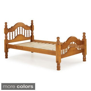 Palace Imports Dover Twin Size Platform Bed Solid Wood