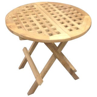D-Art Round Teak Picnic Table (Indonesia)