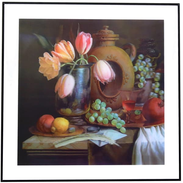 Season Fruit and Flowers 3D Framed Art