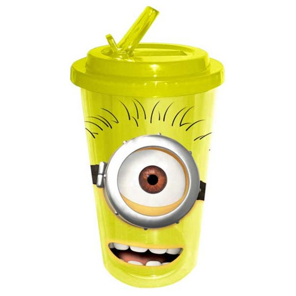 Despicable Me Minion Flip-Straw Arcylic Travel Cup 14732540
