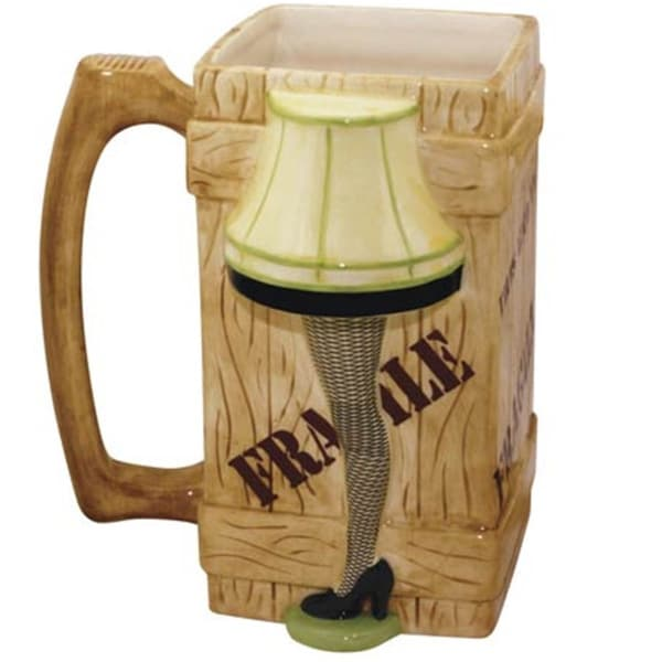 A Christmas Story 40-ounce Leg Lamp Coffee Mug Stein