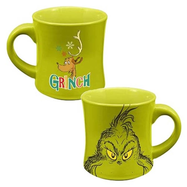 Dr. Seuss How The Grinch Stole Christmas Ceramic 12-ounce Coffee Mug