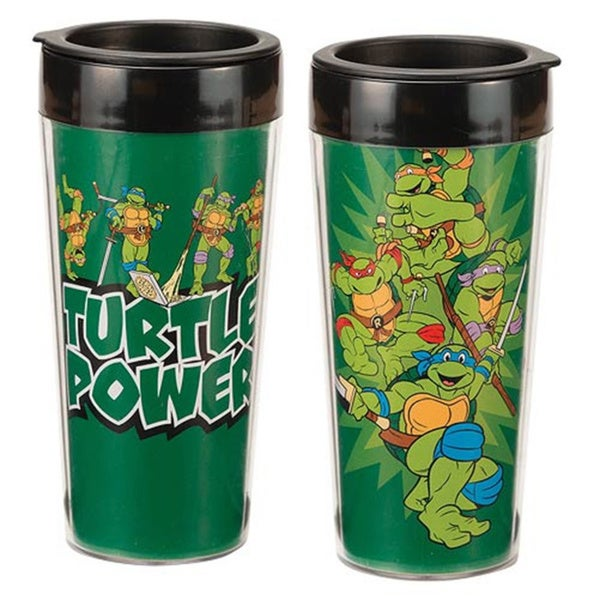 Teenage Mutant Ninja Turtles 'Turtle Power' Travel Coffee Mug 14732549