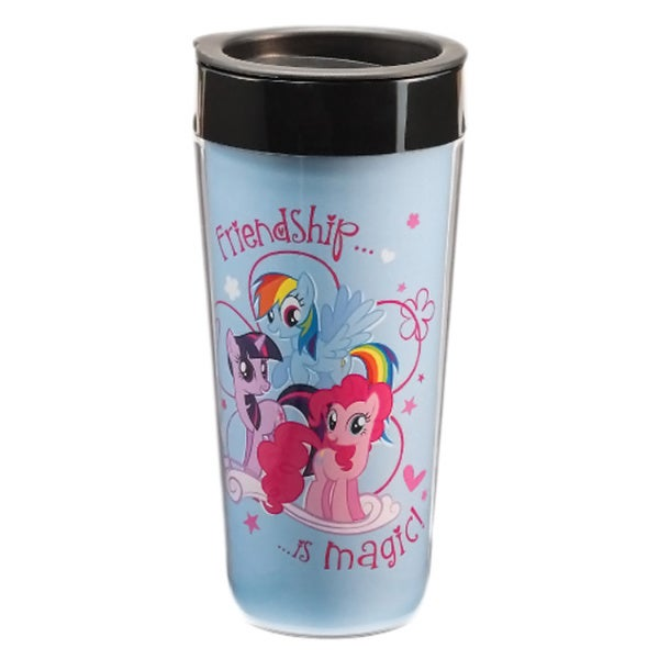 My Little Pony Plastic Travel Coffee Mug