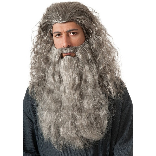 Lord Of The Rings Gandalf Wig and Beard Kit