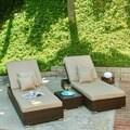 The Hom Lantis 3-piece Poolside Lounge Set