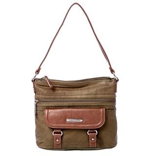 Stone Mountain 'Oxford' Leather Hobo Bag