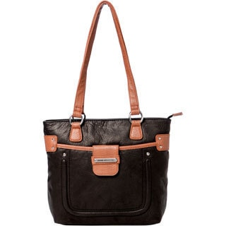 Stone Mountain 'Lexington' Leather Tote