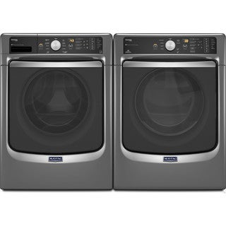 Maytag Maxima Front Load Steam Washer and Dryer Set