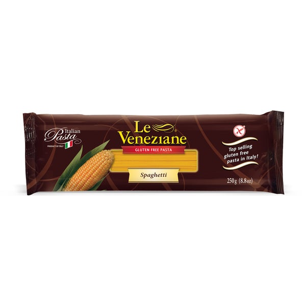 8-ounce Le Veneziane Corn Pasta Spaghetti (Set of 2)