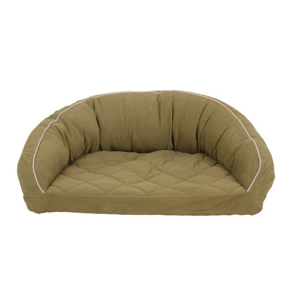 Carolina Pet Co. Microfiber Semi Circle Lounge