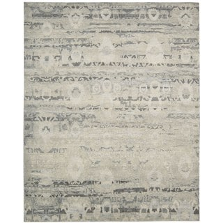 Nourison Dune Mineral Wool Area Rug (7'9 x 9'9)