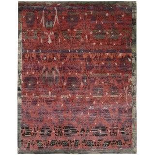 Nourison Dune Pomegranate Area Rug (8'6 x 11'6)