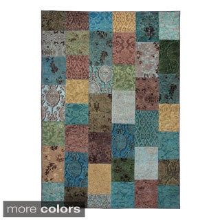 "O-PATCH Woven Area Rug - (2'6"" x 7'6"")"