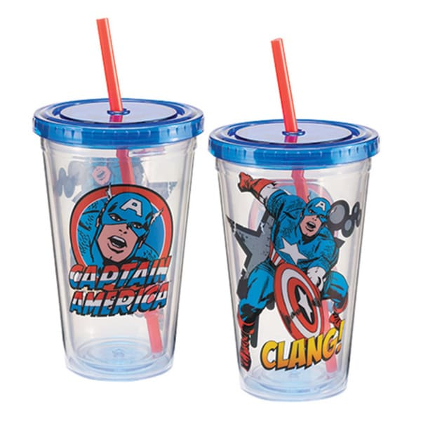 Captain America Acrylic Travel Tumbler 14733776