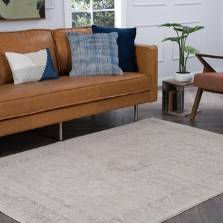 Alise Essence Cream Area Rug ((5'3 x 7'3))