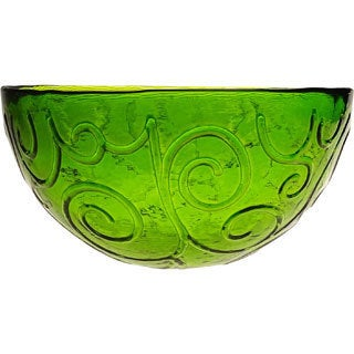 French Home Willow Green Soup / Cereal Bowl, 7-inch Diameter (Set of 4)