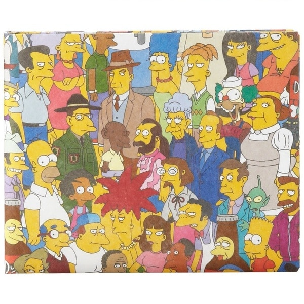 The Simpsons Cast Mighty Wallet