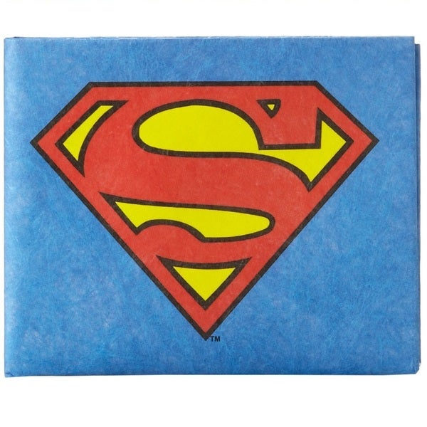 The Mighty Wallet Superman Man Of Steel The Original Tyvek