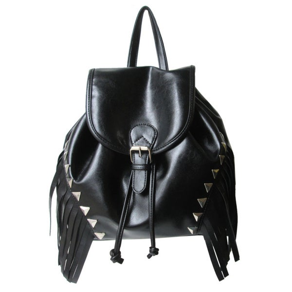 Olivia Miller Multi-studded Tassel Backpack