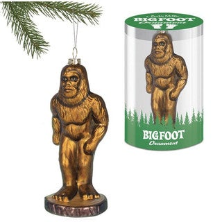 Bigfoot Christmas Tree Ornament
