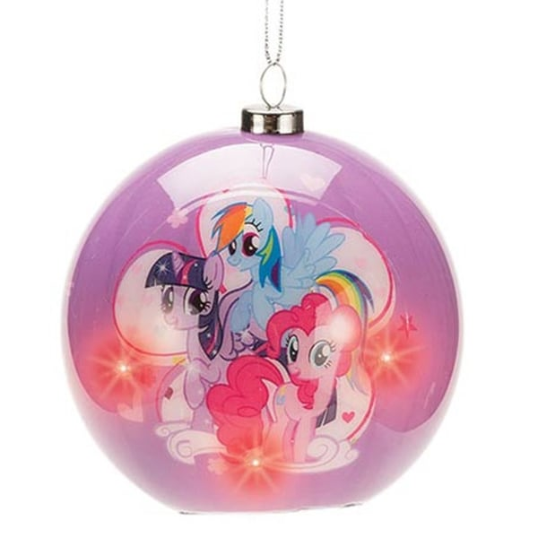 My Little Pony Friendship Is Magic Light-up Christmas Ornament
