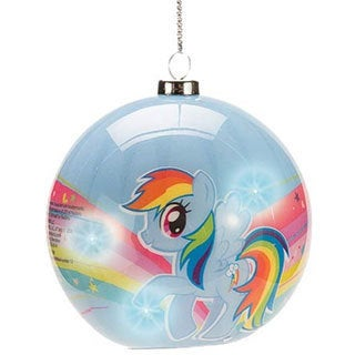 My Little Pony Rainbow Dash Light-Up Christmas Ornament