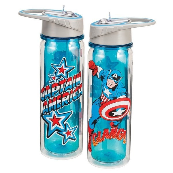 Captain America Tritan Water Bottle