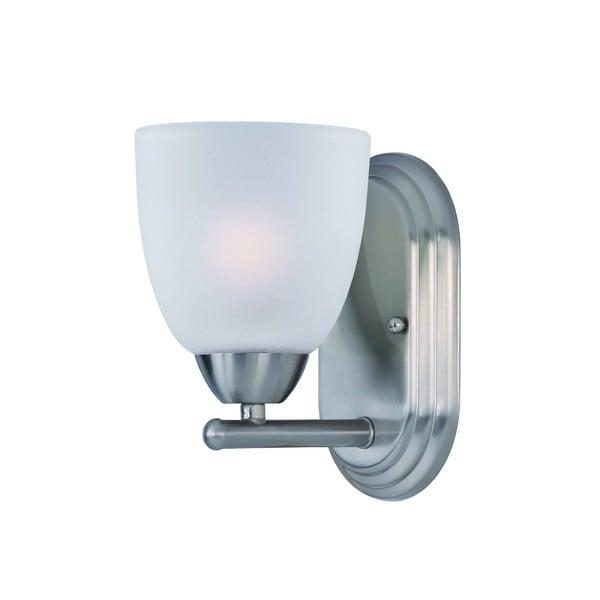 Nickel 1-light Axis Bath Vanity Light