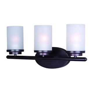 Bronze 3-light Corona Bath Vanity Light