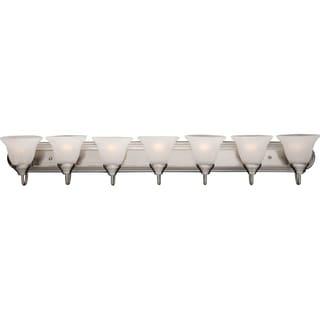 Nickel 7-light Essentials 801x Bath Vanity Light