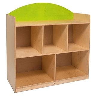 Rainbow Birch Green Sturdy Storage Cabinet