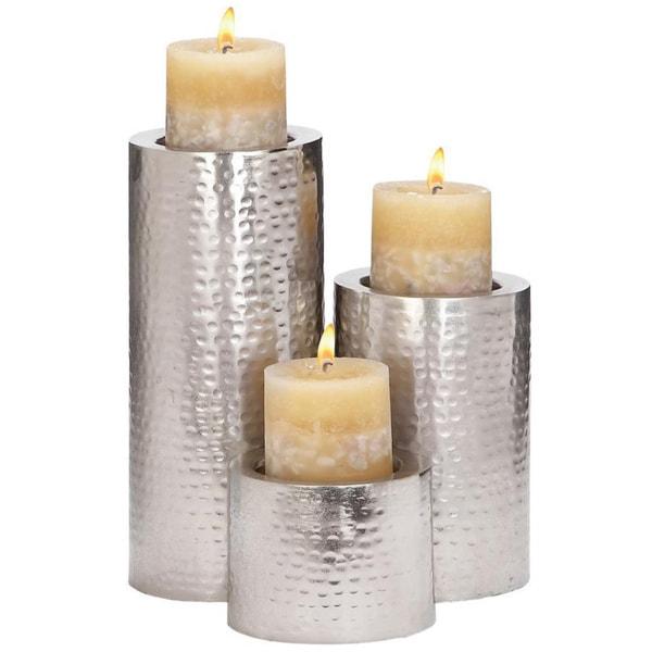 Metal Candle Holder (Set of 3) 14734258