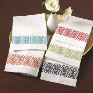Embroidered Guest Bar Towel (Set of 4)