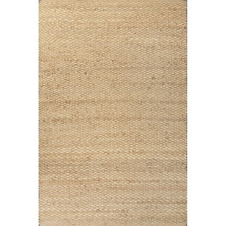 Naturals Geometric Pattern Brown Area Rug (8' x 10')