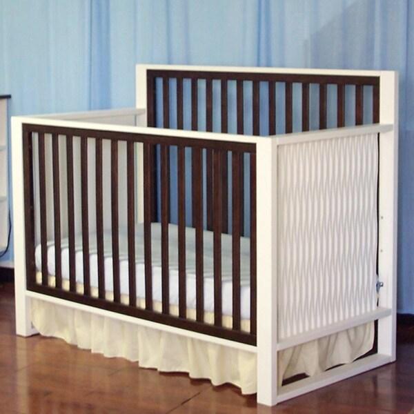 Eden Baby Furniture Moderno White Crib