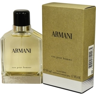 Giorgio Armani New Men's 1.7-ounce Eau de Toilette Spray (New Edition)