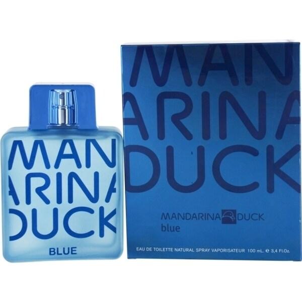 Mandarina Duck 'Mandarina Duck Blue' Men's 3.4-ounce Eau de Toilette Spray