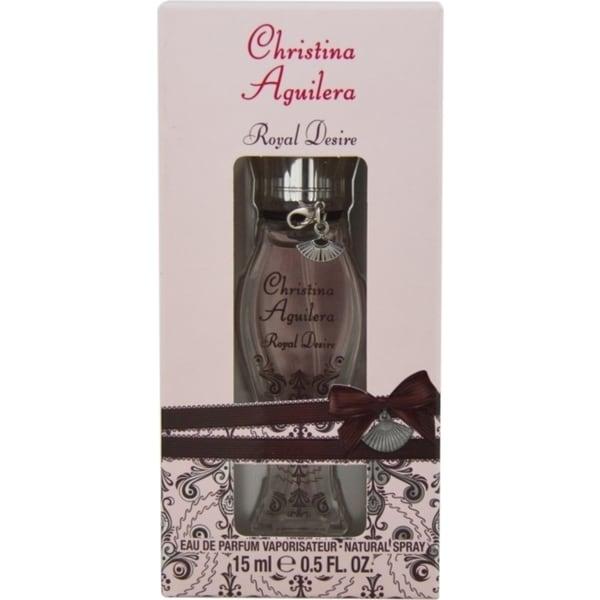 Christina Aguilera 'Christina Aguilera Royal Desire' Women's .5-ounce Eau De Parfum Spray