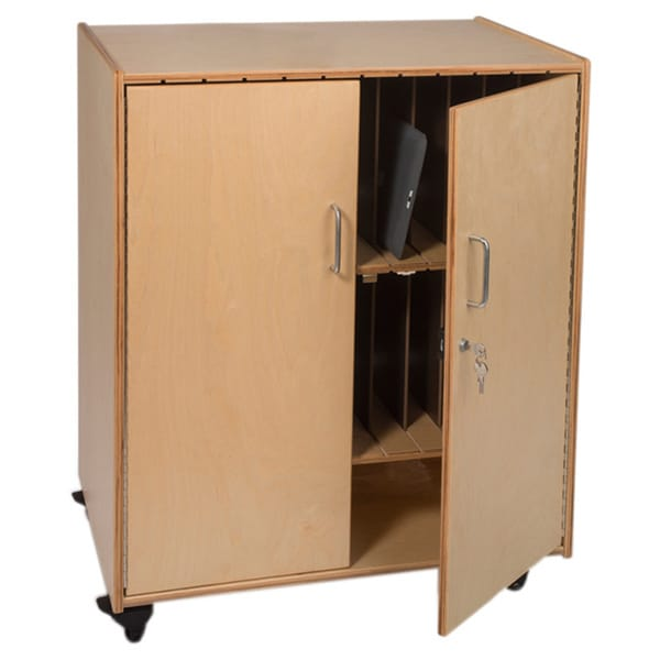 Whitney Brothers Tablet Storage Cabinet