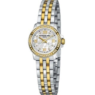 Raymond Weil Women's Tango 5390-SPS-00995 Diamond Two Tone Stainless Steel Watch