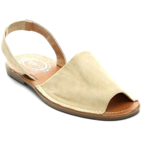 Refresh CLORI-01 Women's Slingback Slip-on Flats