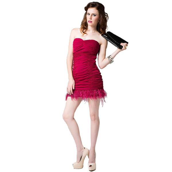 Sara Boo Sleeveless Ruffle Woven Dress