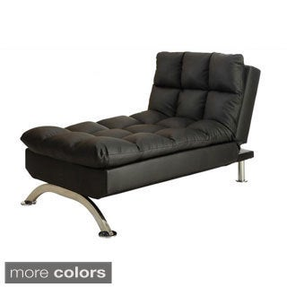 Sussex Faux Leather Lounge Chair to Bed