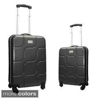 Hercules Luggage Monte Carlo 2-piece Hardside Spinner Luggage Set