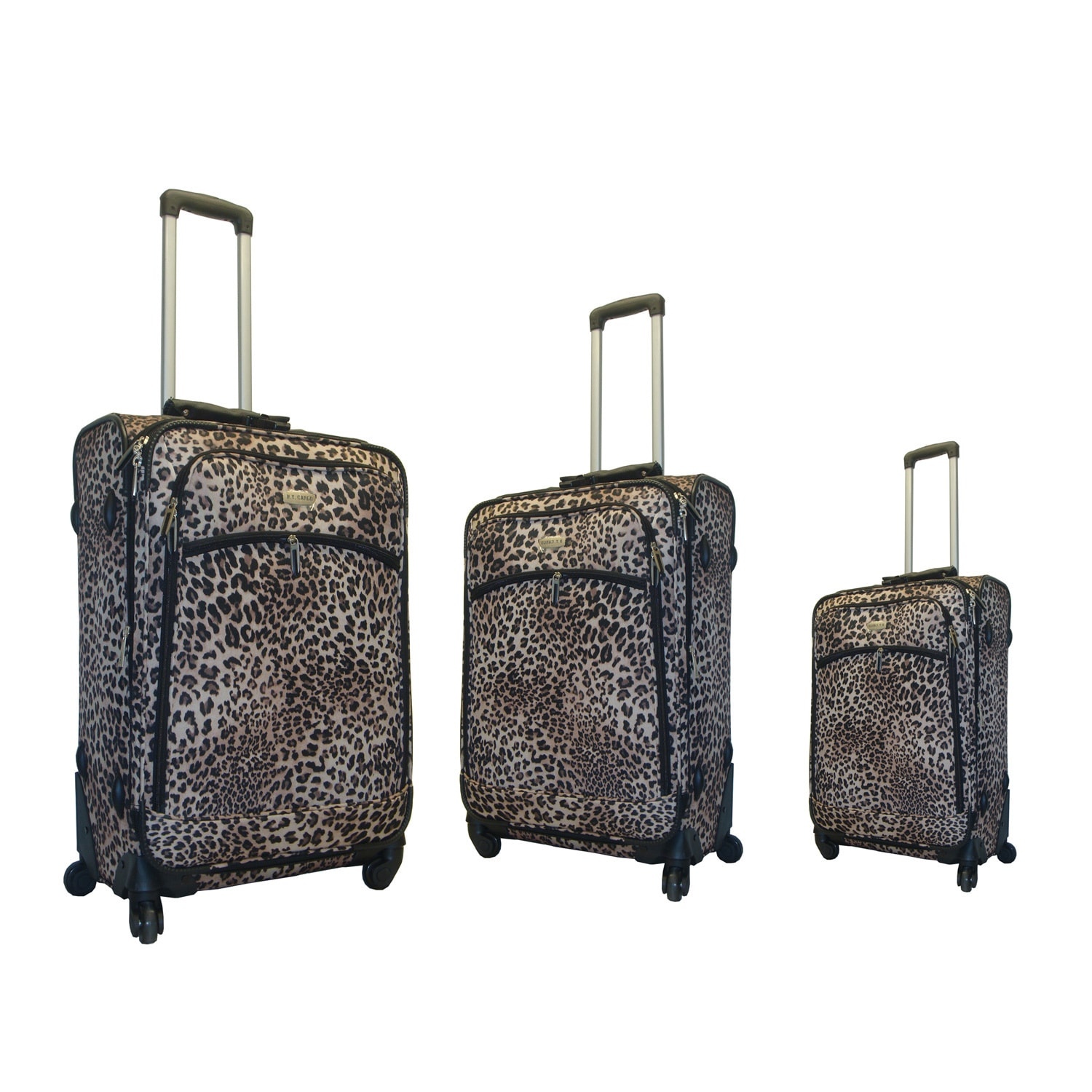 NY Cargo Safari 3-piece Spinner Luggage Set