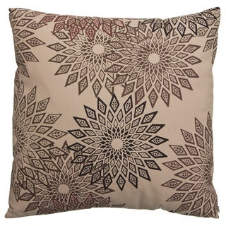 Zalva Zal-Nasaim 18-inch Mocha Accent Pillow