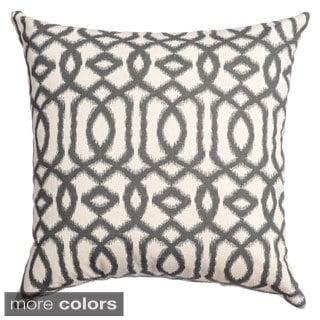 Kaili Ikat Feather/ Down Filled Throw Pillows (Set of 2)